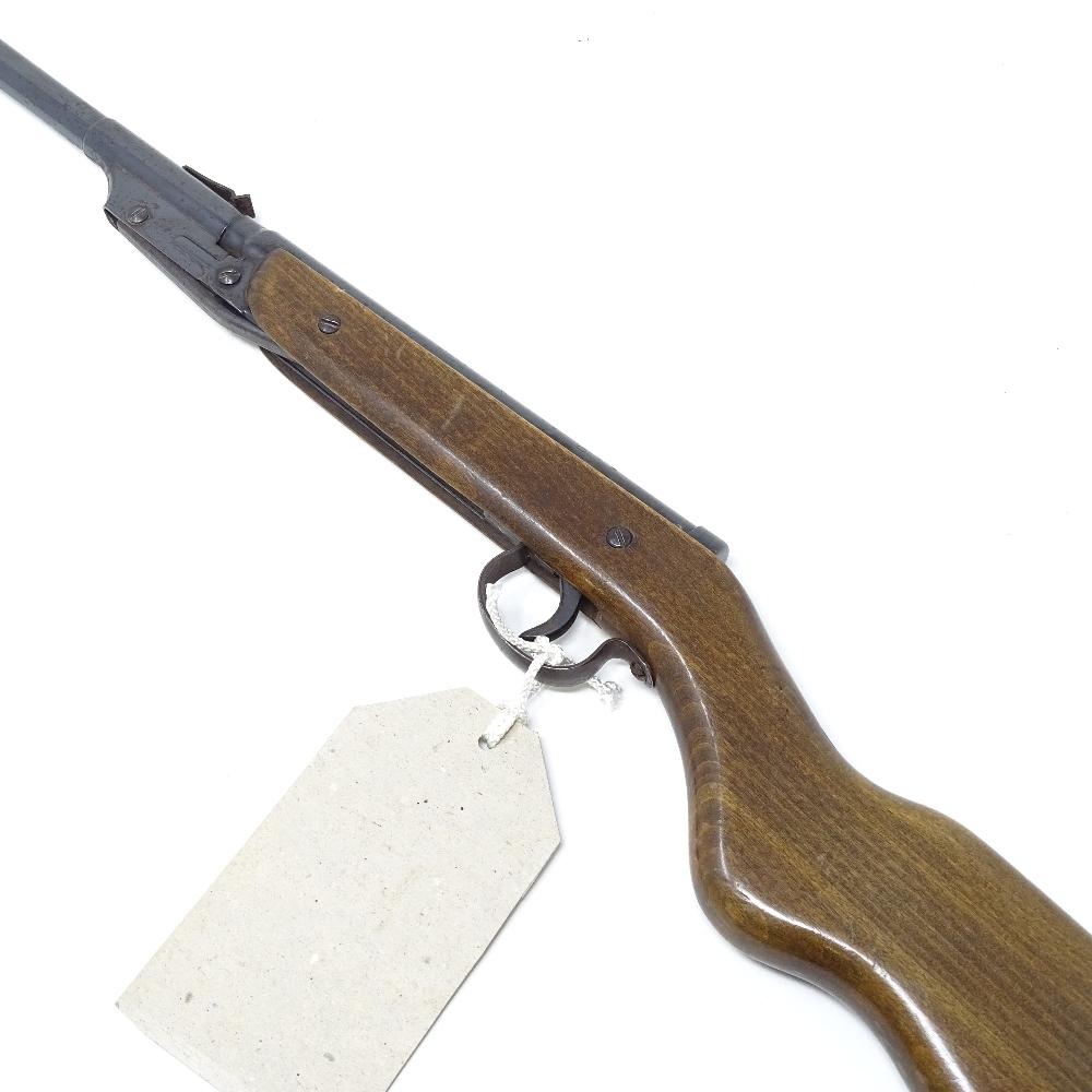 Lot 39 - A Diana 16 model air rifle, 0.177 calibre, break barrel, circa 1958, working order