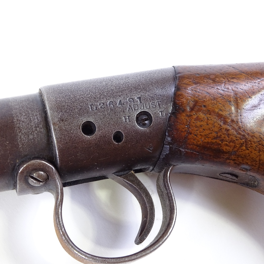 Lot 33 - BSAL model air rifle, 0.177 calibre, under lever, circa 1925, working order