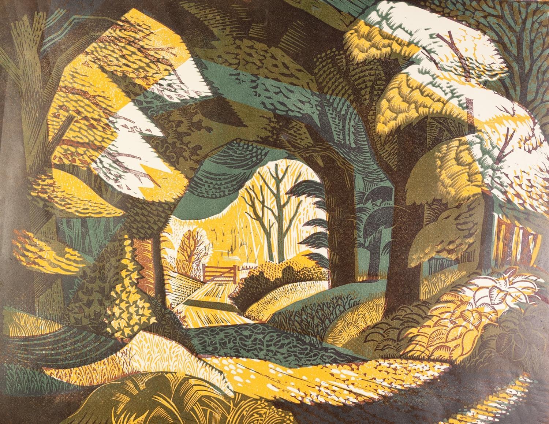 Lot 78 - NORMAN C JAQUES (1926 - 2014) TWO ARTIST SIGNED COLOUR LITHOGRAPHS ?Lyme Park?, (5/40) 22 ½? x