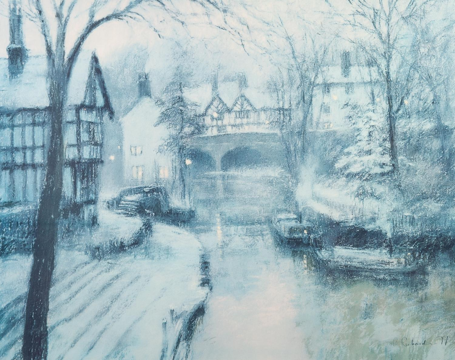 Lot 462 - BOB RICHARDSON TWO ARTIST SIGNED LIMITED EDITION COLOUR PRINTS ?The Opera House, Manchester?, (104/