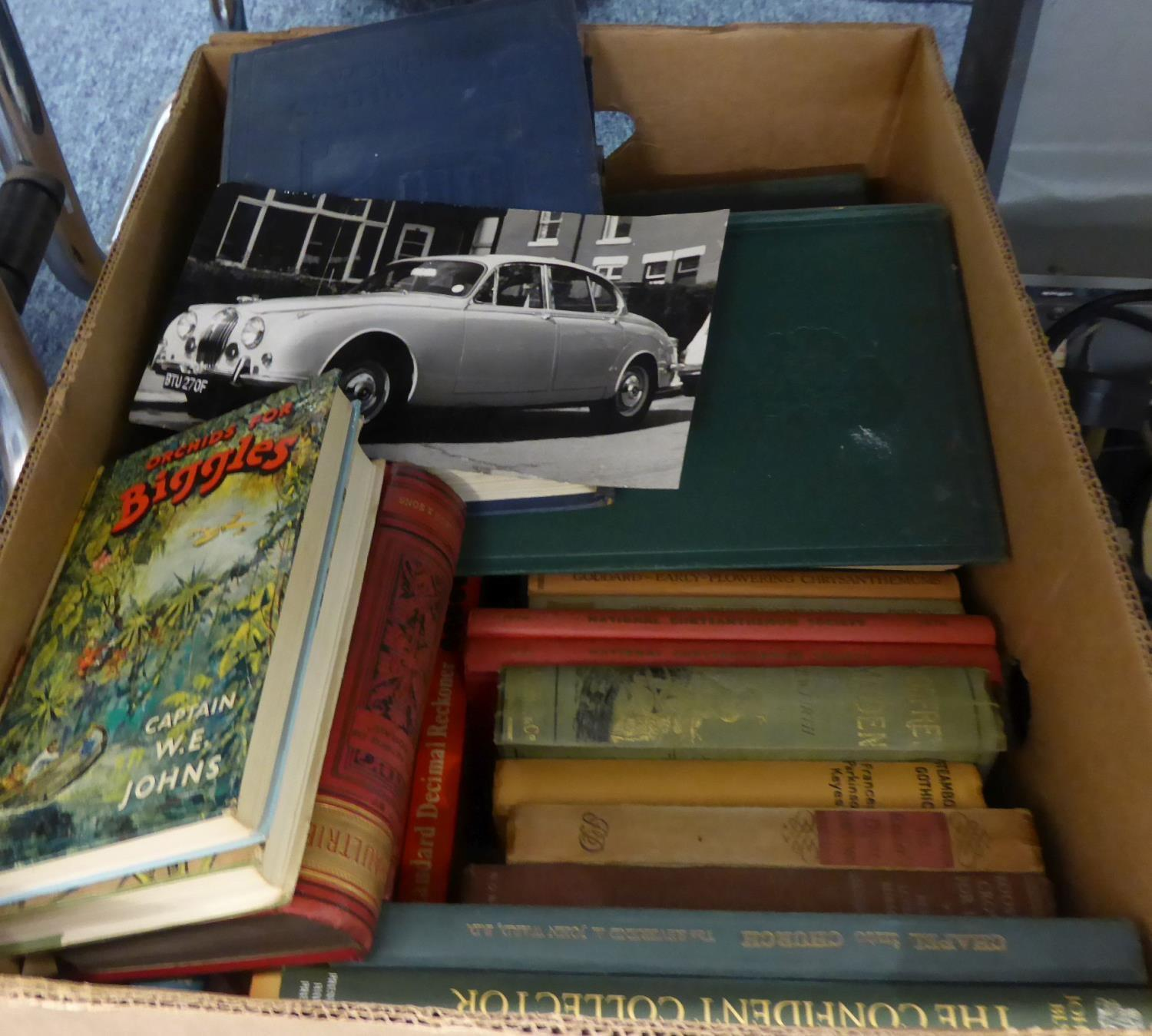 Lot 414 - ONE BOX OF BOOKS, VARIOUS AUTHORS SUNDRY WORKS