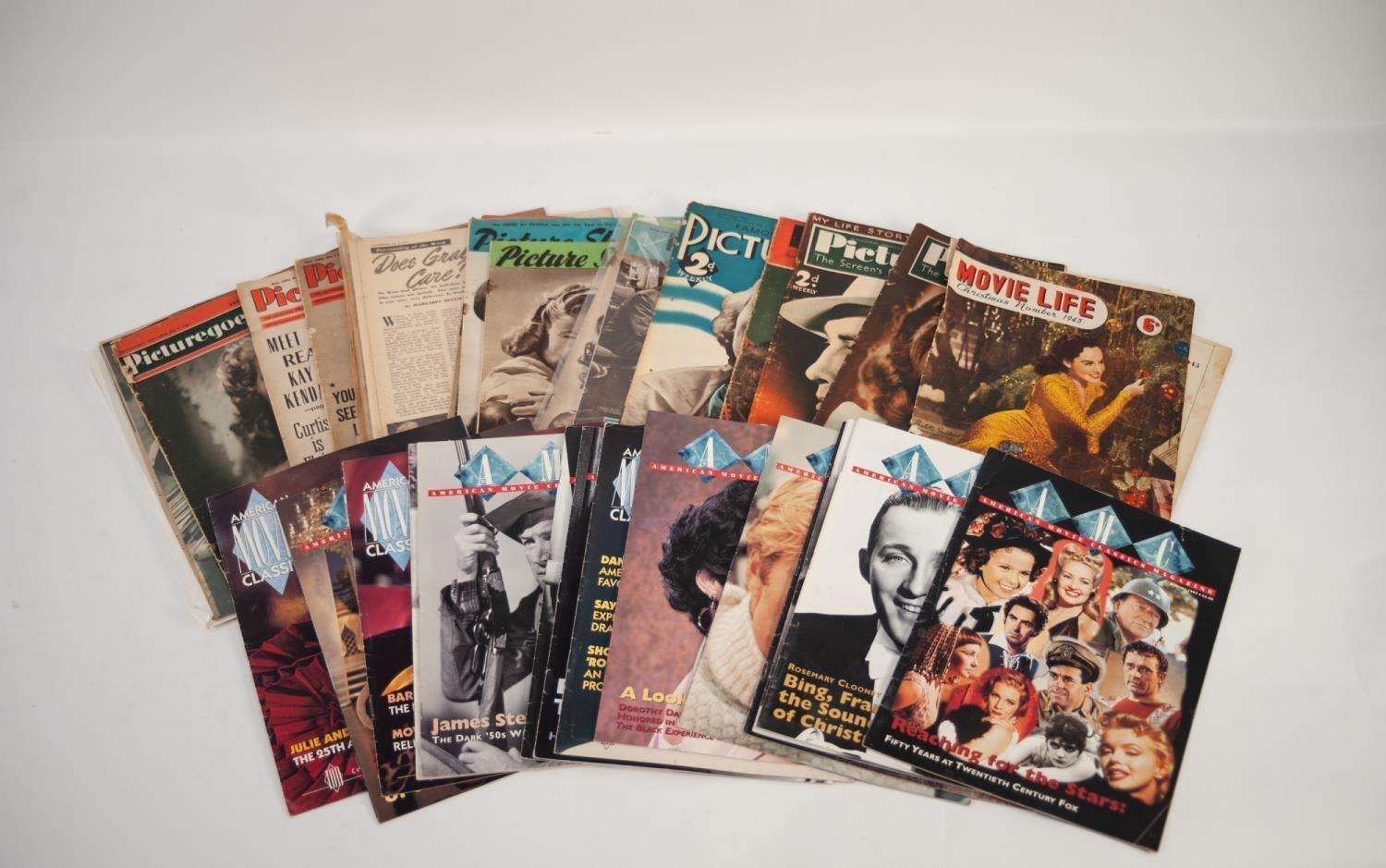 Lot 235 - APPROXIMATELY 110 FILM MAGAZINES, mainly 1930s to 1980s, including 10 copies of 'Cine Musical', also