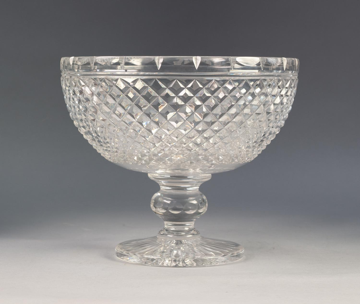 Lot 203 - BOXED STUART CRYSTAL LIMITED EDITION, CHARLES AND DIANA, ROYAL COMMEMORATIVE LARGE CHALICE, wheel