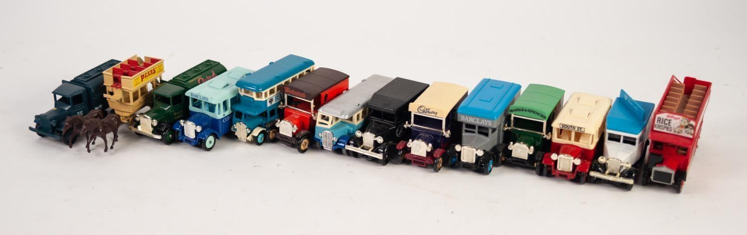 Lot 487 - SELECTION ONF 23 'DAYS GONE' DIE CAST MODEL COMMERCIAL VEHICLES AND BUSES