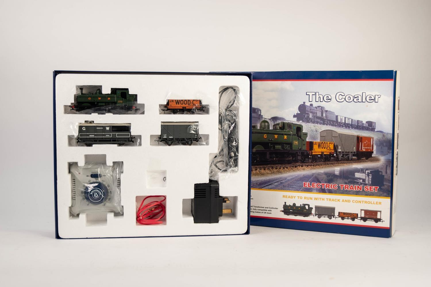"""Lot 534 - BACHMANN BRANCH LINE BOXED """"THE COOLER"""" 00 scale TRAIN SET little used and complete including 0-6-"""