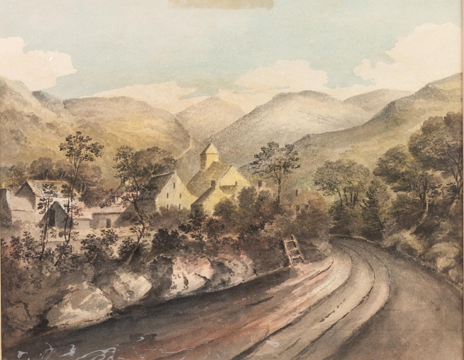 Lot 190 - UNATTRIBUTED (MID NINETEENTH CENTURY) TEN WATERCOLOUR DRAWING BY THE SAME HAND Views in England