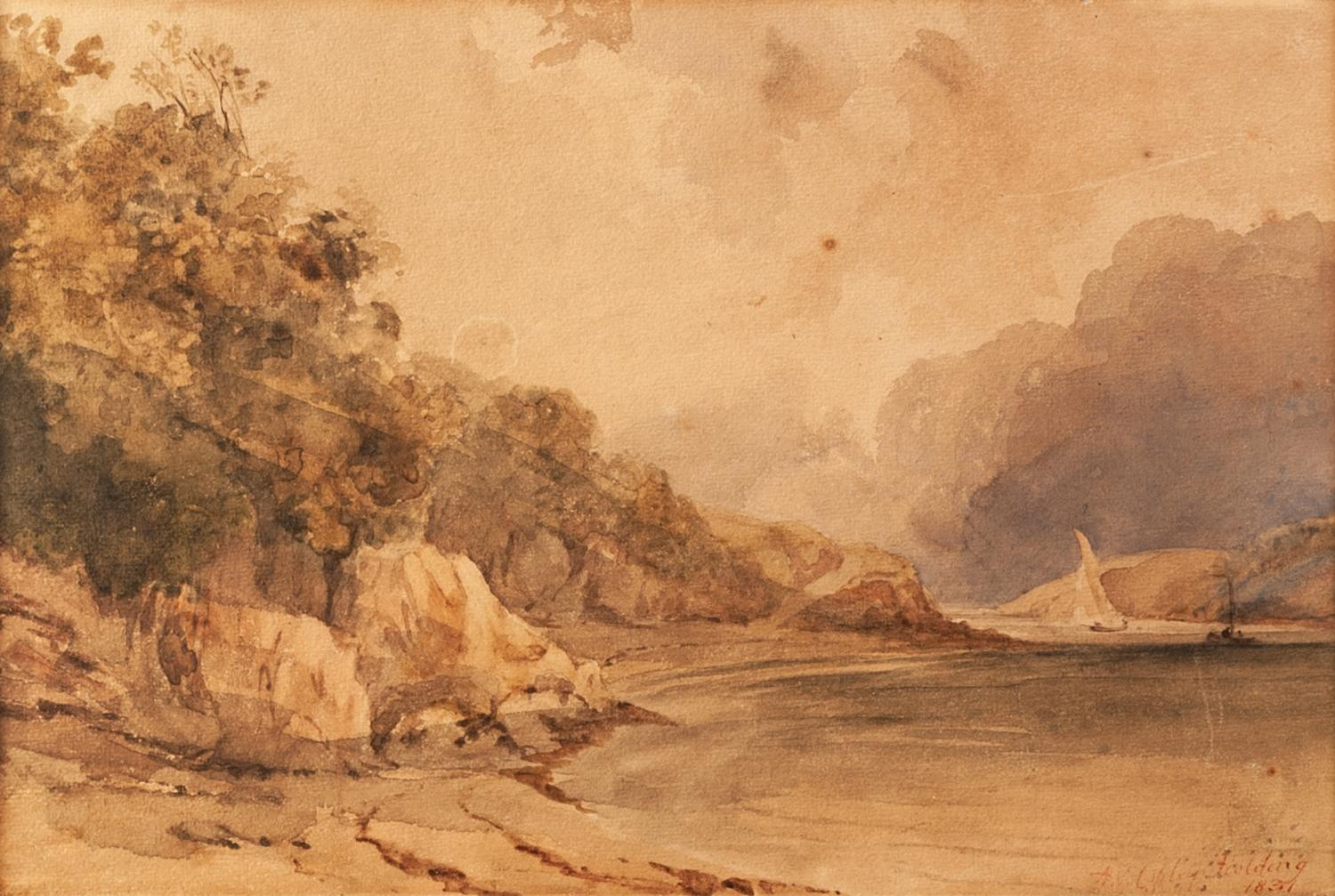 Lot 174 - ANTHONY VANDYKE COPLEY FIELDING RWS (1787 - 1855) Watercolour Lakeland Landscape Signed and dated