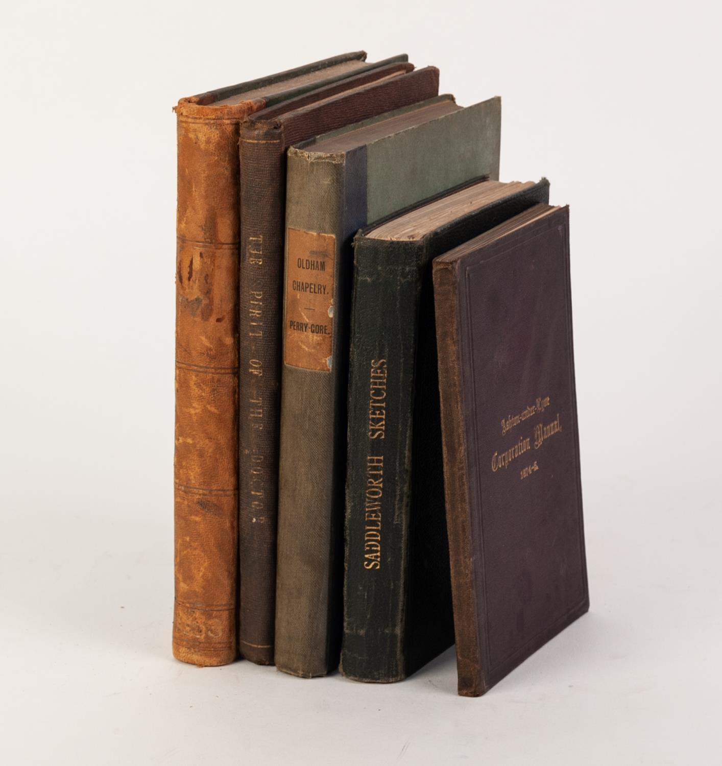 Lot 49 - TOPOGRAPHY, LOCAL HISTORY- The Spirit of The Doctor, comprising of many interesting poems selected