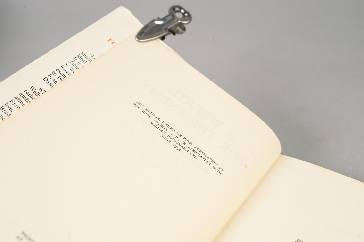 Lot 12 - SIGNED TITLES: RICHARD MASON, The Wind Cannot Read, 1947, with dust jacket; E C LARGE, Sugar in