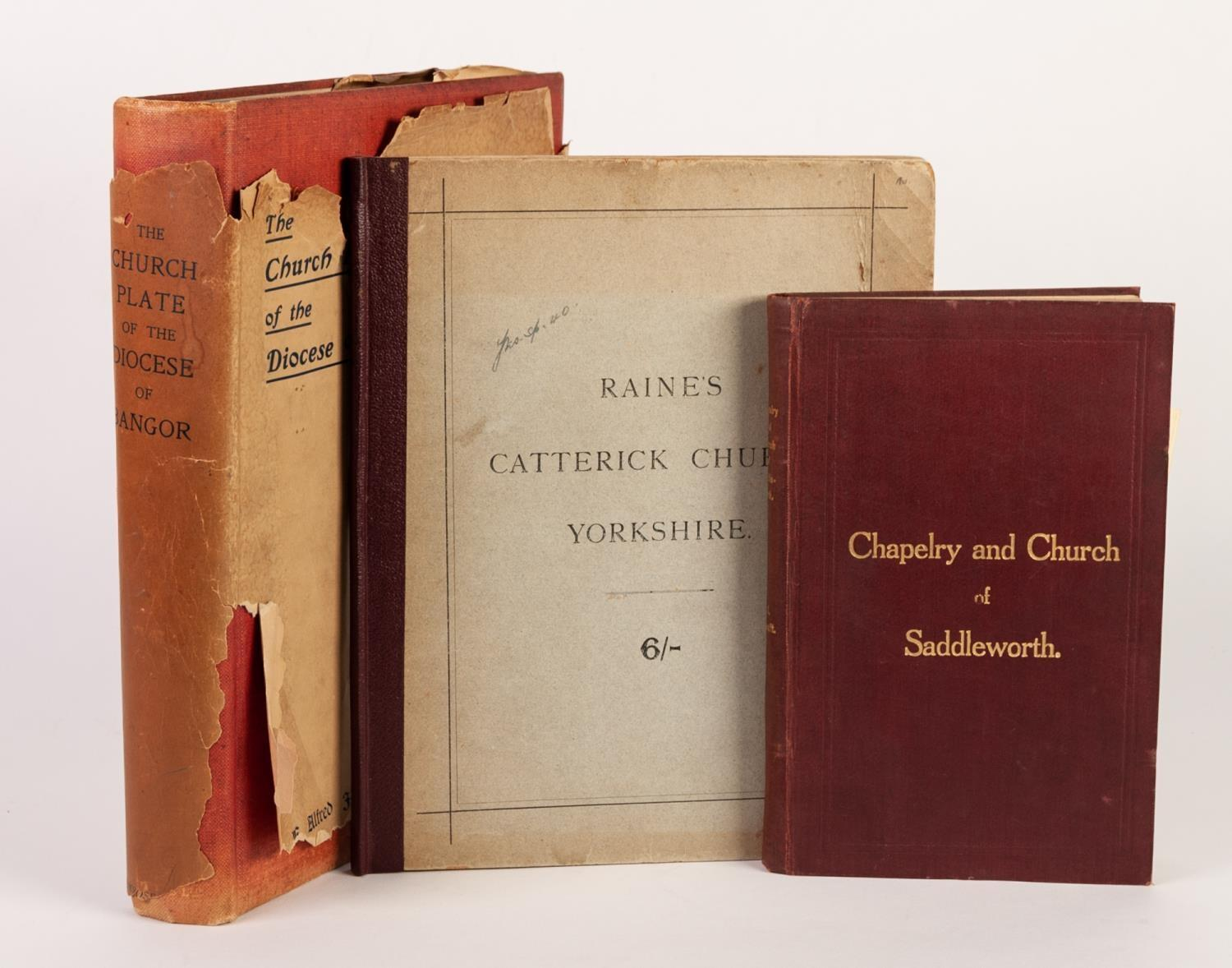 Lot 155 - Salvin-Catterick Church in the County of York, pub J Weale 1884, illustrated, bound in original