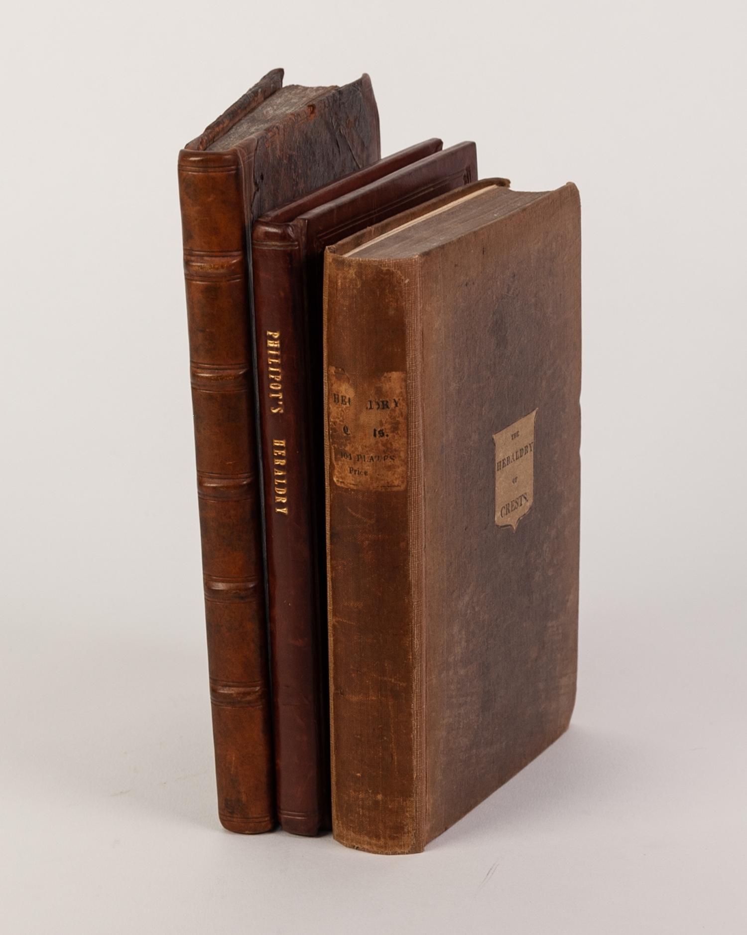 Lot 81 - HERALDRY- Johanne Gibbono- Introduction, Ad Latinum Blasonian, Essay to a more correct Blason,