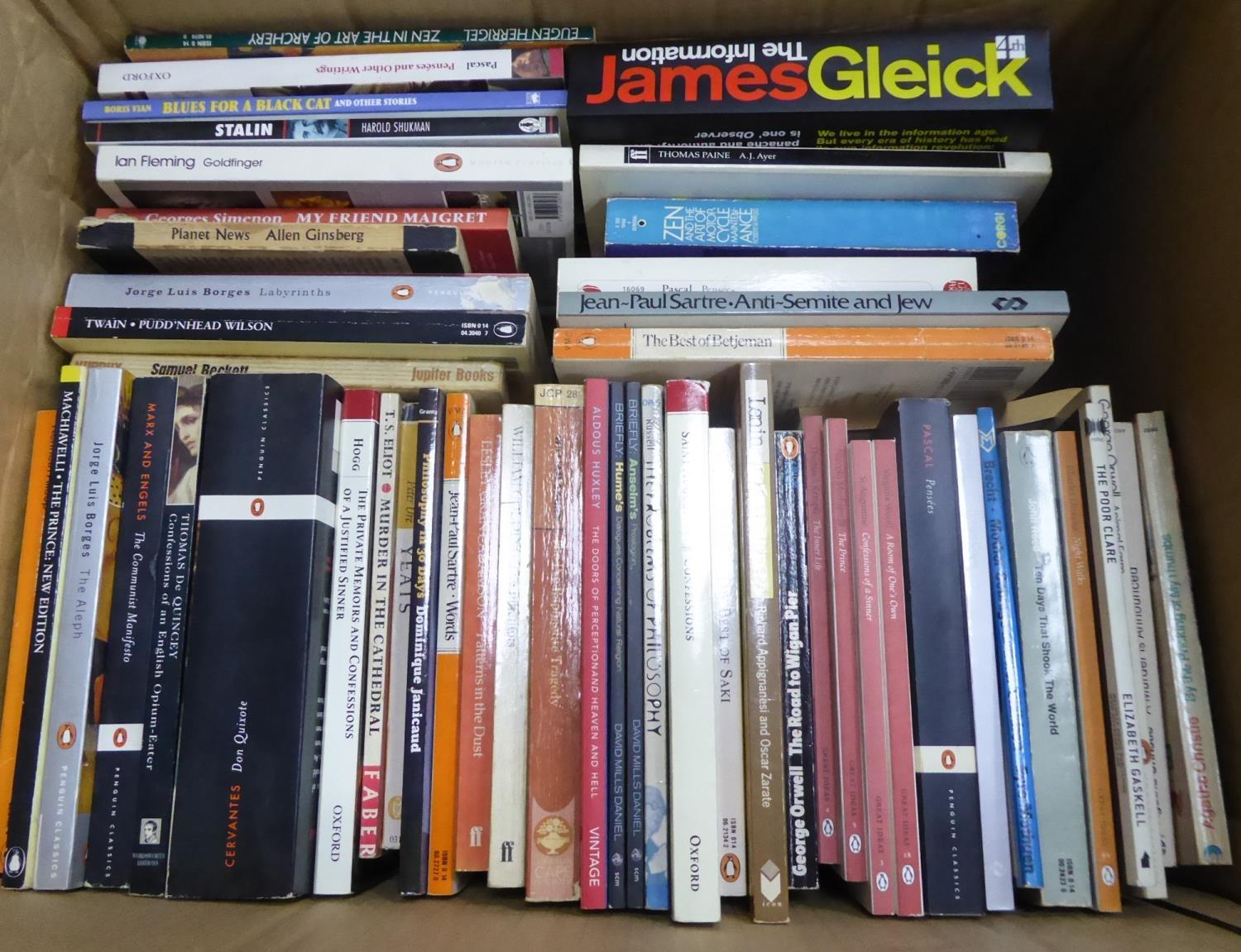 Lot 116 - VINTAGE AND MODERN PAPERBACK BOOKS- A quality selection of Fiction and Non Fiction, mixed genres,