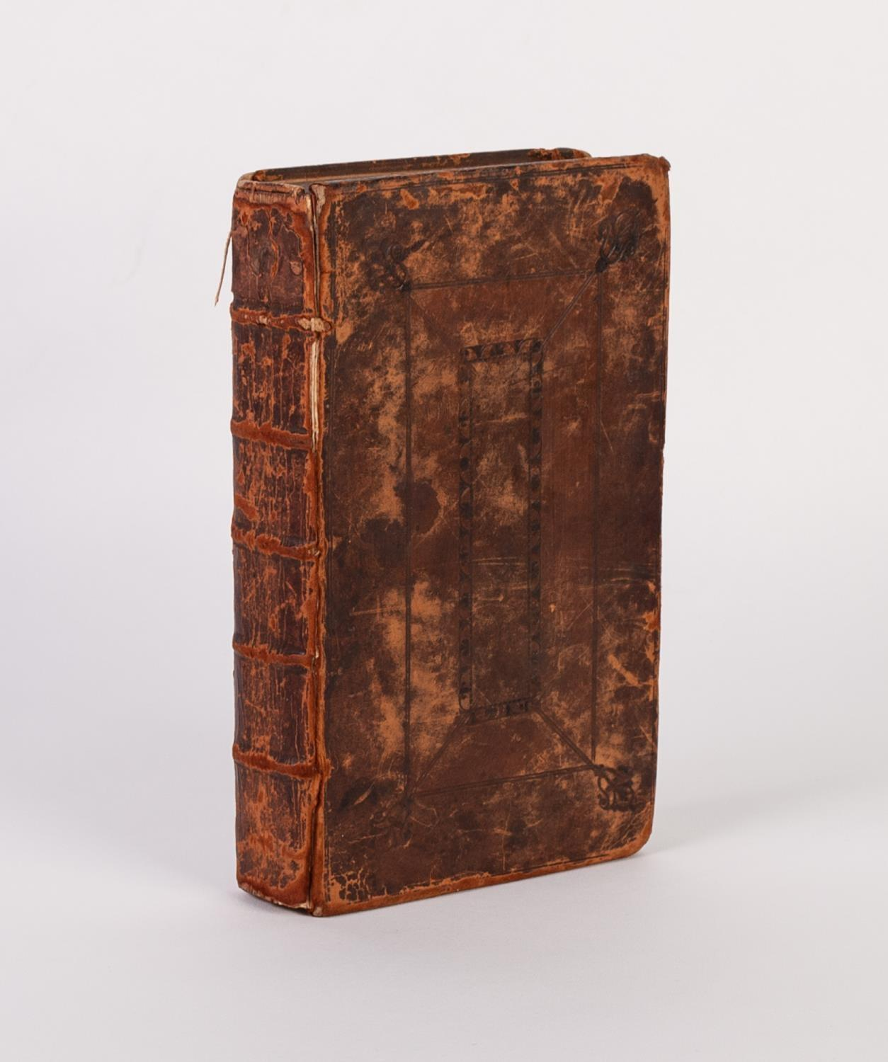 Lot 135 - THE LIFE OF JAMES II LATE KING OF ENGLAND, printed London for J Knapton 1705. Full leather binding