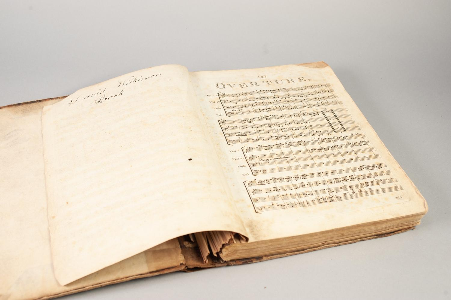 Lot 27 - GEORGE FRIDERIC HANDEL (1685 - 1759), MESSIAH A SACRED ORATORIO, IN SCORE WITH ALL THE ADDITIONAL