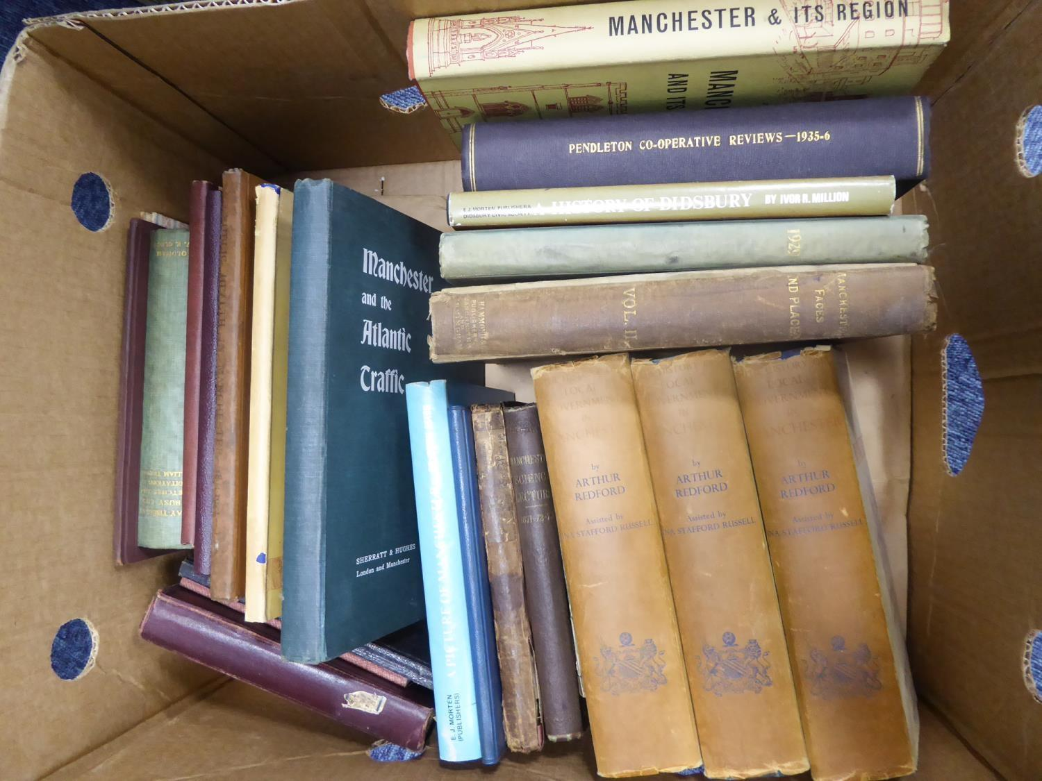 Lot 47 - TOPOGRAPHY, LOCAL HISTORY- Science for the People 1871, Science Lectures delivered in the Hulme Town