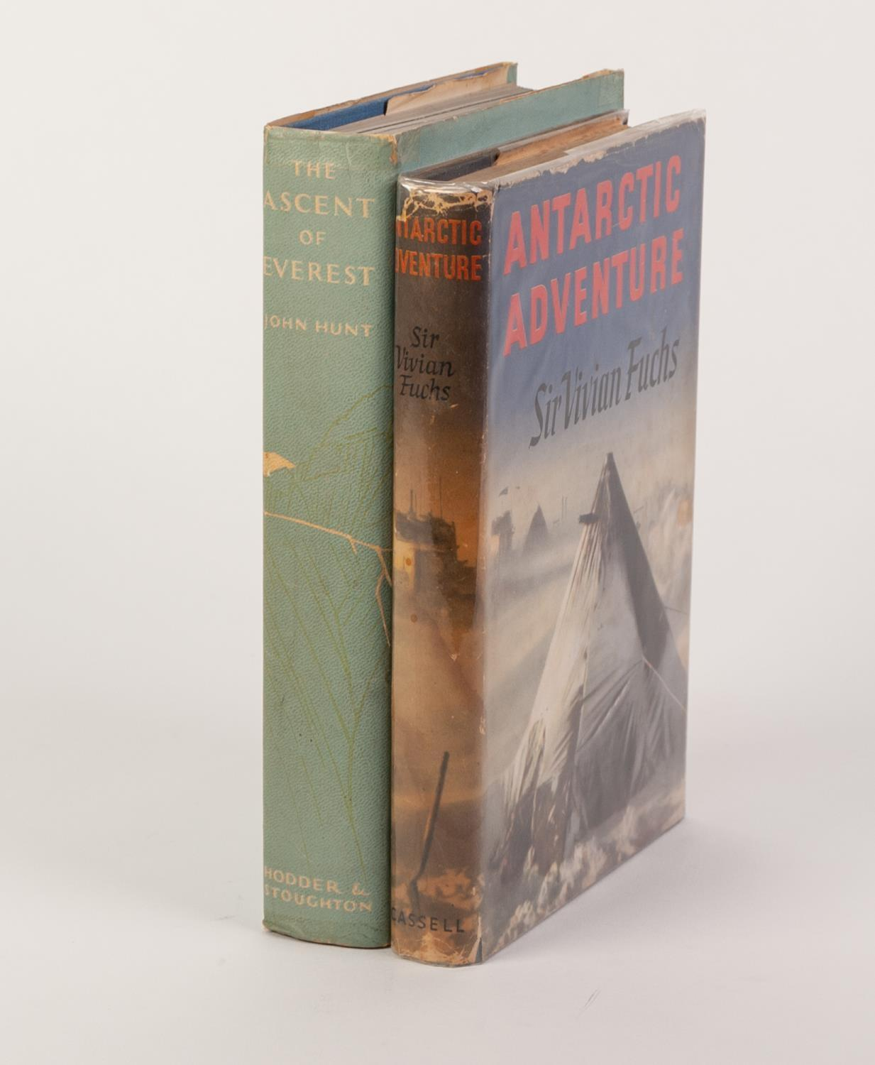 Lot 76 - TRAVEL EXPLORATION- John Hunt- The Ascent of Everest, published by Hodder and Stoughton 1953 1st Ed,