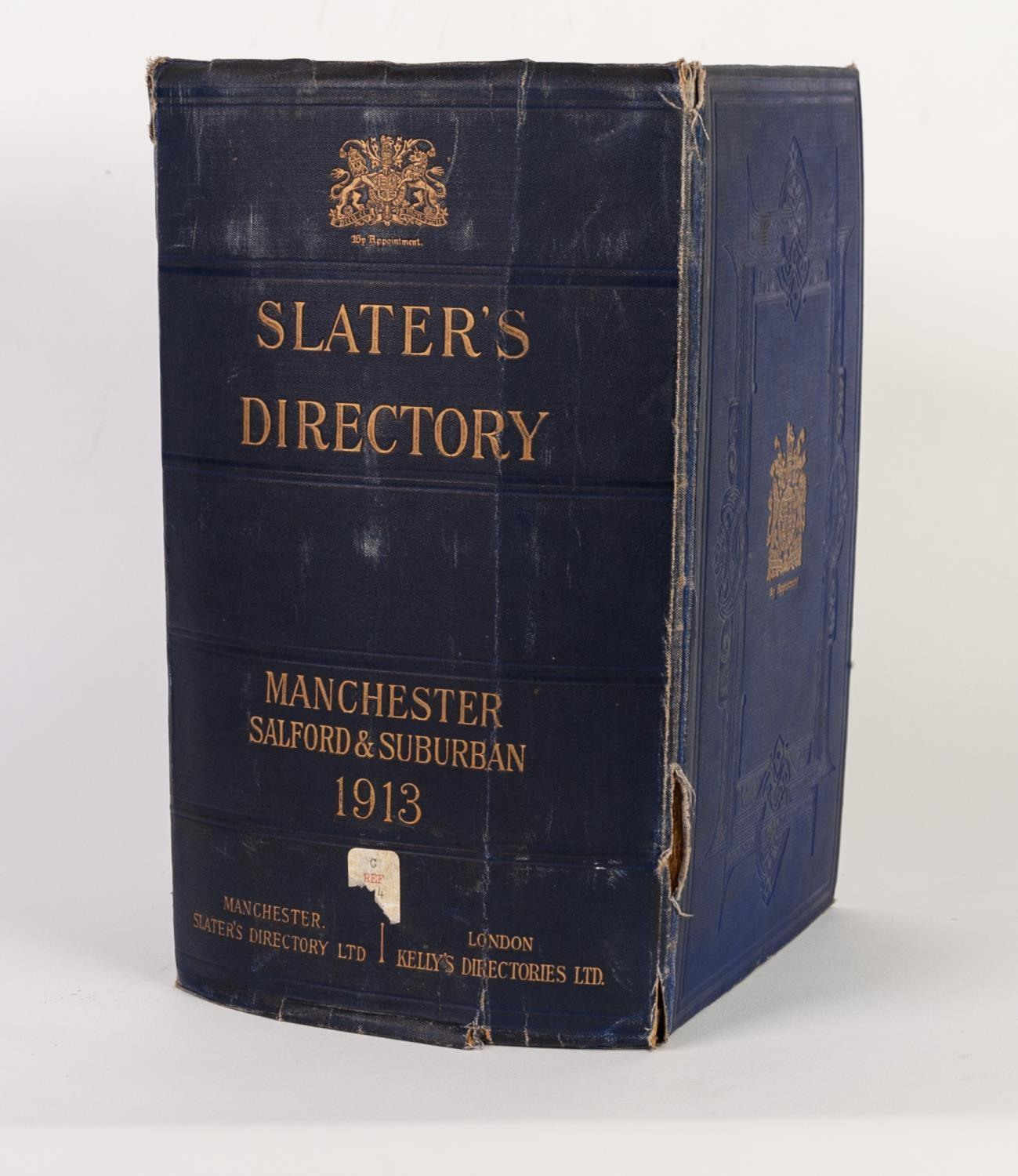 Lot 36 - SLATERS MANCHESTER SALFORD AND SUBURBAN DIRECTORY, with plan of Manchester, without the map of the