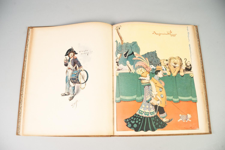 Lot 83 - L'ALBUM AQUARELLES ET DESSINS INEDETS, c. 1902, published Paris Libraire Illustree, France, J.