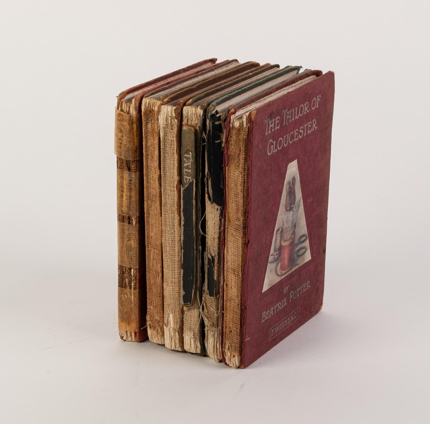 Lot 80 - BEATRIX POTTER- A selection of titles to include, Tailor of Gloucester, Mr Tittlemouse, Flopsy