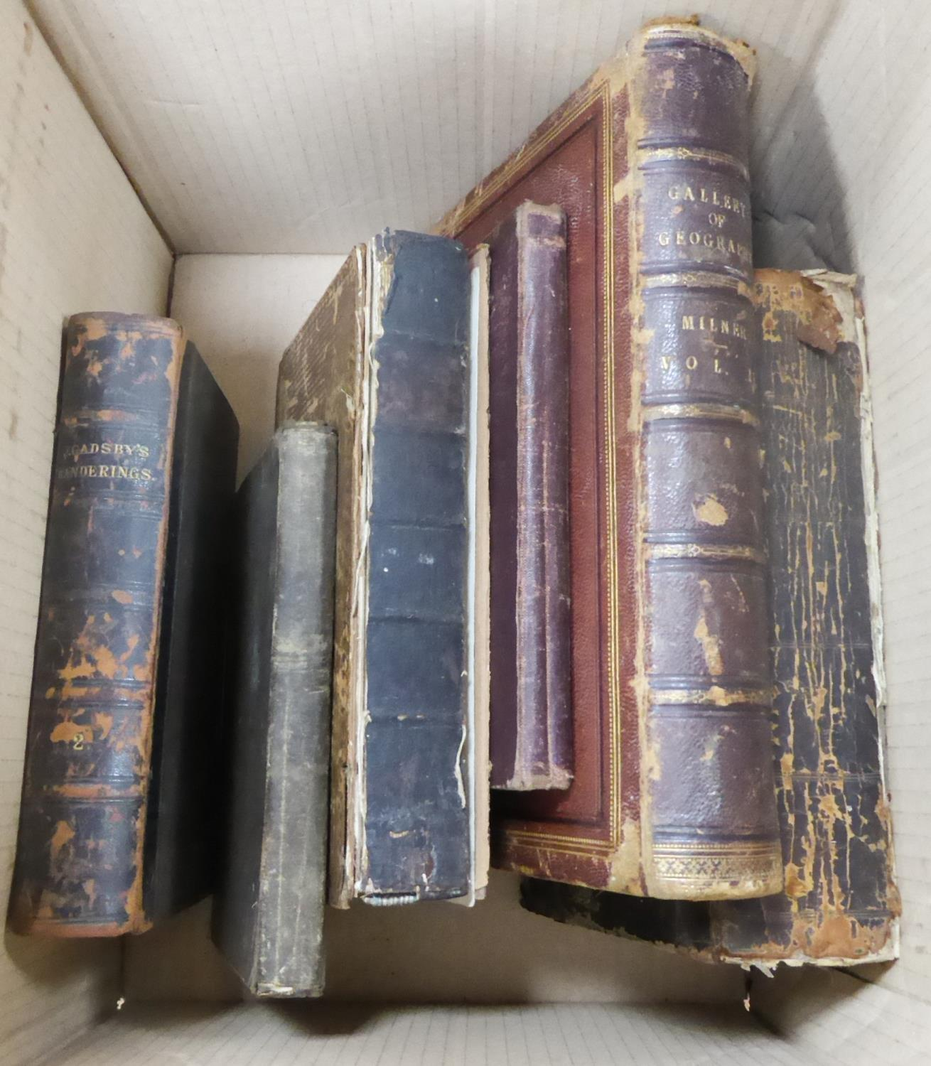 Lot 138 - JOHN GADSBY - MY WANDERINGS BEING TRAVELS IN THE EAST Gadsby Bouverie Street 1885 Volume 11 only.