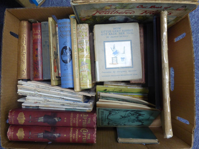 Lot 160 - CHILDRENS BOOKS- The Captain, A Magazine for Boys and Old Boys, vol I & II pub Newnes. Raverat- Four