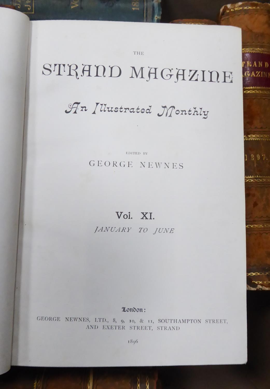Lot 131 - SHERLOCK HOLMES - THE STRAND MAGAZINE George Newnes Volume I, III, IV, V, VI (1891 -93) covering