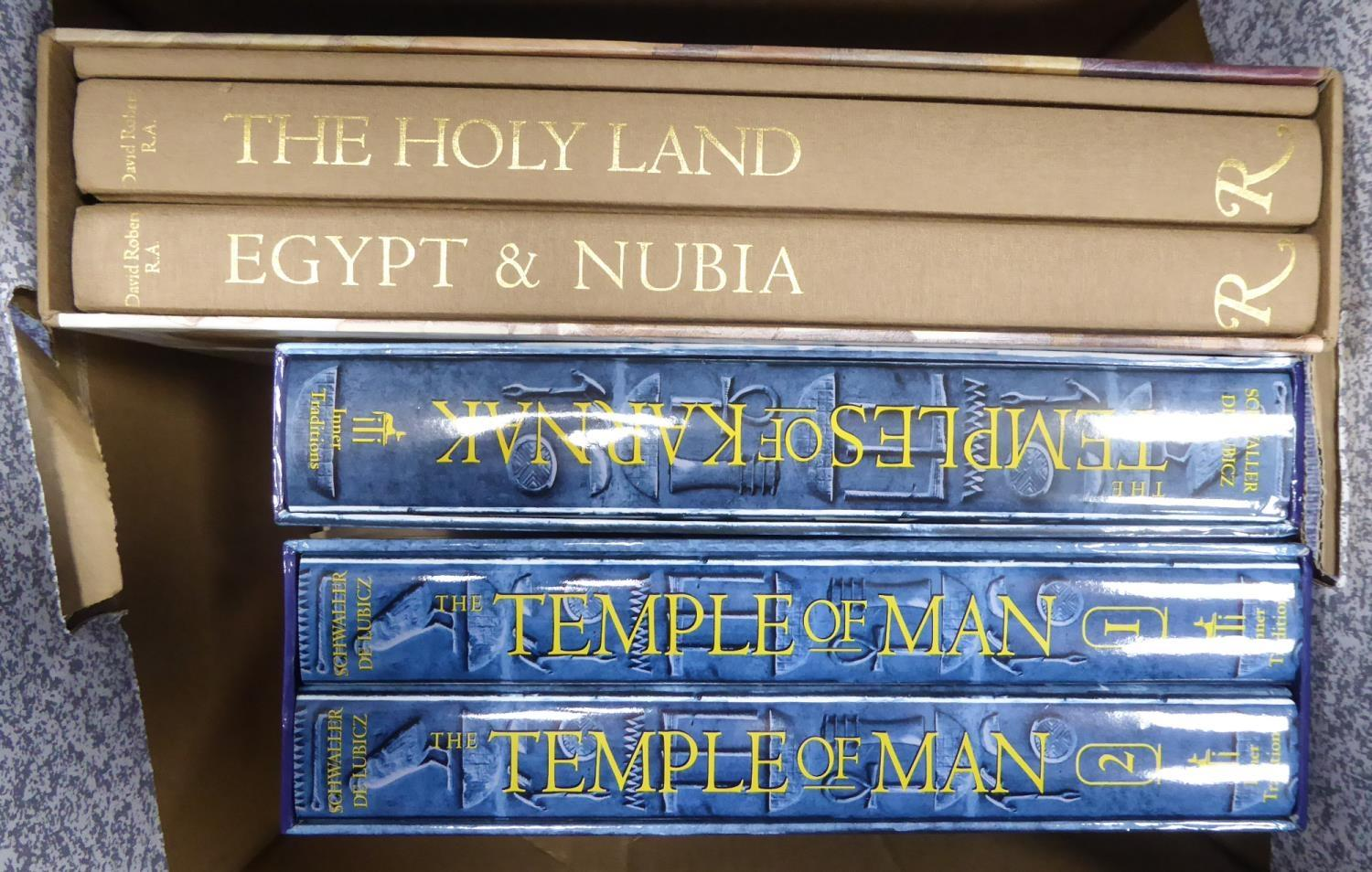 Lot 40 - DAVID ROBERTS, THE HOLY LANDS, EGYPT & NUBIA. Rizzoli facsimile edition 2000. Three volumes in