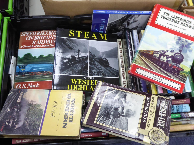 Lot 102 - RAILWAY INTEREST. O S Nock- The Lancashire & Yorkshire Railway, A Concise History, pub IAN ALLAN