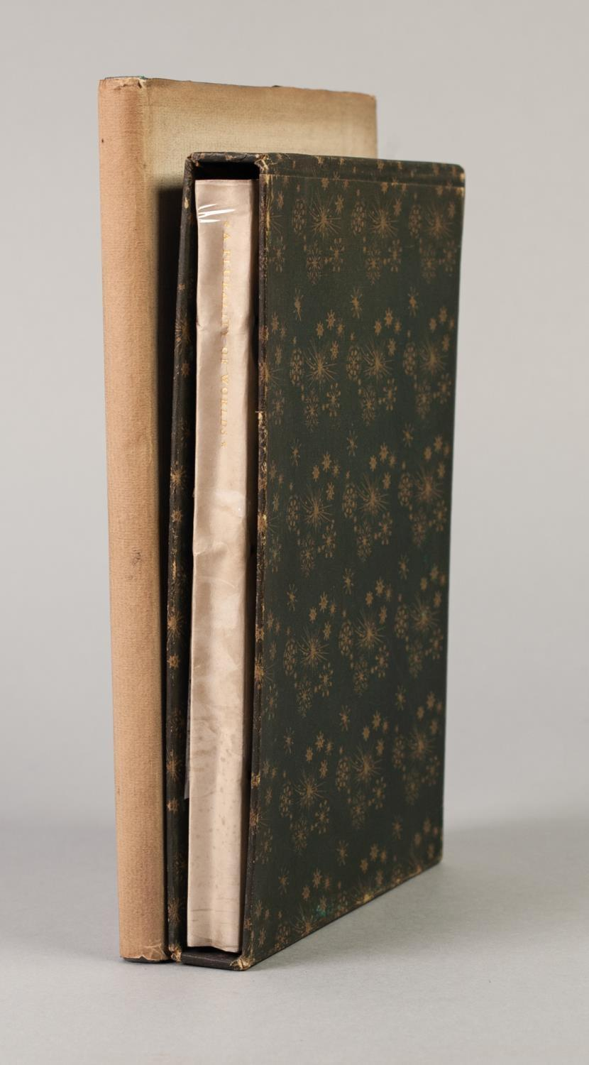 Lot 13 - PRIVATE PRESS - TWO TITLES FROM THE NONESUCH PRESS to include The Receipt Book of Elizabeth Raper