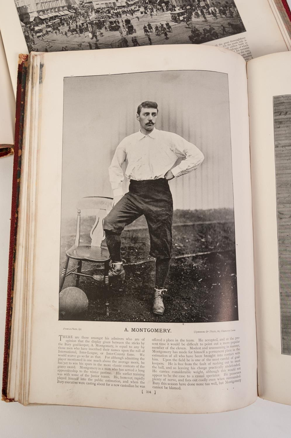 Lot 50 - SPORTFOLIO, Portrait and Biographies of Heroes and Heroines of Sports and Pastimes, pub Newnes 1896.