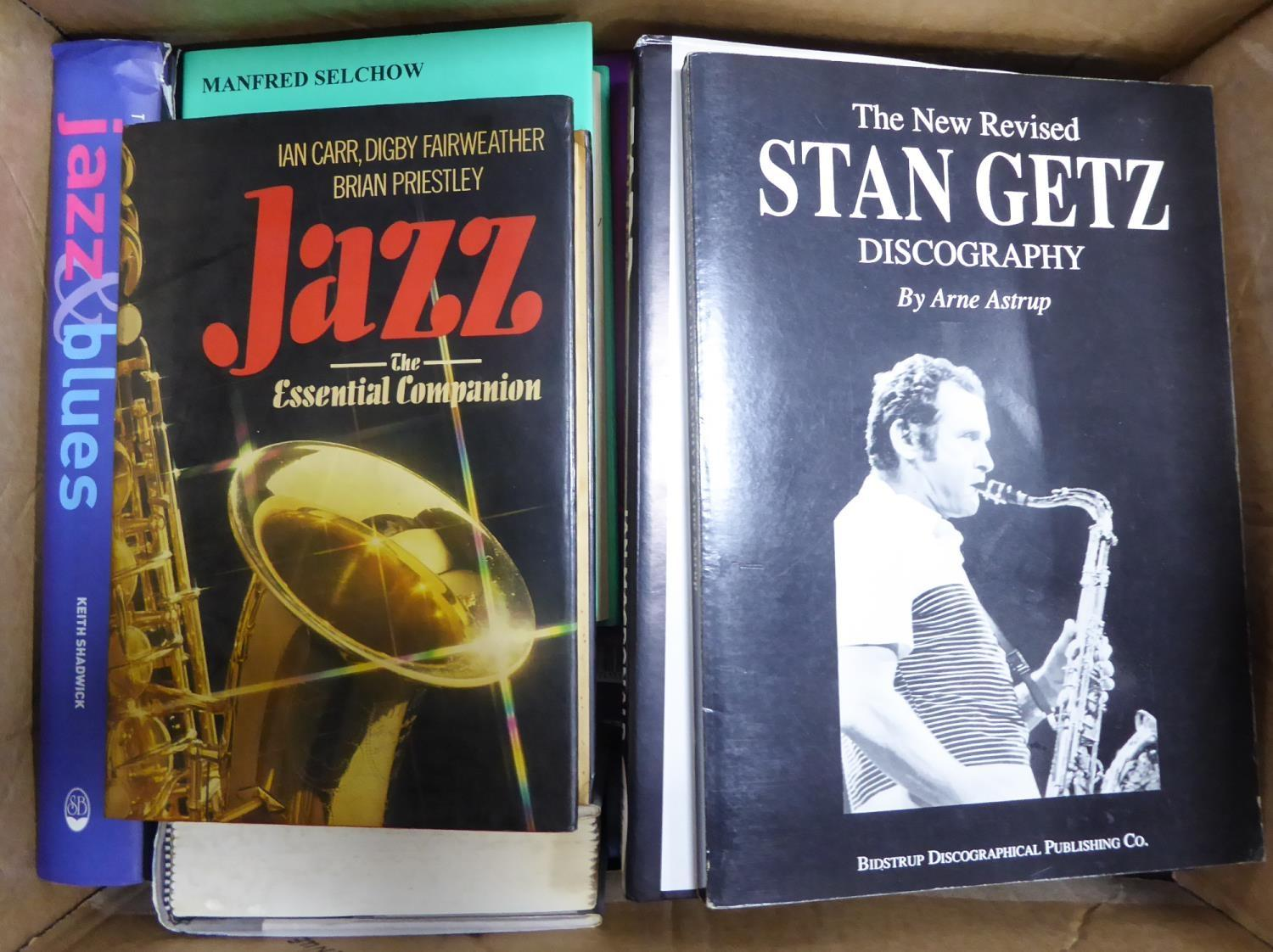 Lot 52 - JAZZ- Selchow- A Bio-Discographical Scrap Book on Vic Dickenson. Chilton- Who's Who of Jazz,