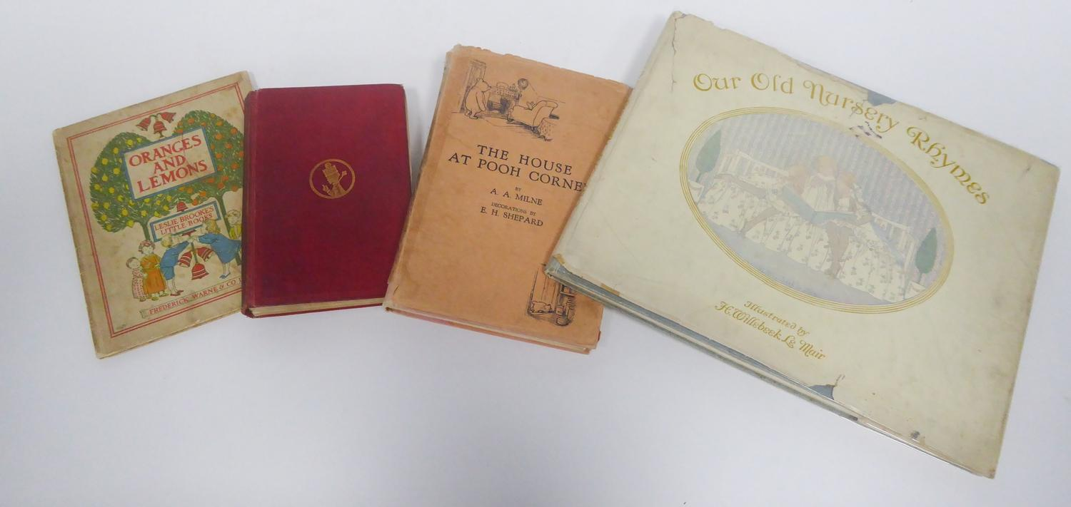 Lot 157 - A A Milne- House at Pooh Corner, pub Methuen 1928 (second edition), with original 2/6 dust jacket.