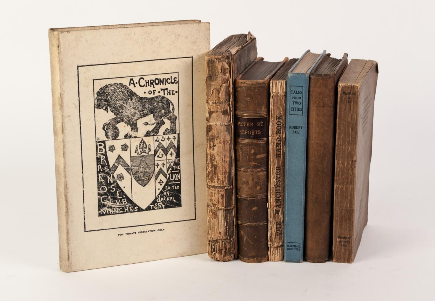 Lot 48 - TOPOGRAPHY, LOCAL HISTORY- A Chronicle of the Brasenose Club Manchester, printed by The Guardian