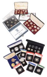 Lot 444 - A collection of Silver UK Commemorative Coinage