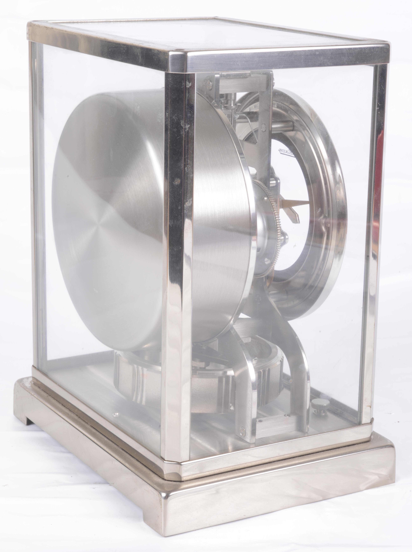 Lot 31 - A Jaeger Le Coultre Atmos mantel clock, c1970's