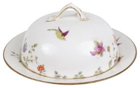A Crown Staffordshire muffin dish, early 20th century