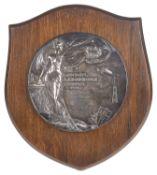 The London Aerodrome Trophy Grahame-White Swimming Club 'Men's Club Championship' silver plaque