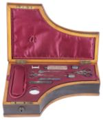 A charming 19th century musical necessaire in the form of a grand piano