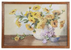 Edith Alice Andrews (1900-1940) two water colours