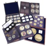 Lot 443 - A collection of Commemorative Coinage