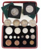 A George VI 1937 UK Specimen Coin Set,