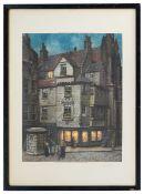Frederick Marriott (1860 - 1941) 'Edinburgh, John Knox's House'