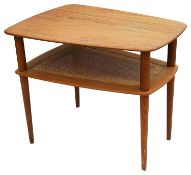 A Danish Peter Hvidt & Orla Molgaard Nielsen for France & Sons teak occasional table c.1960