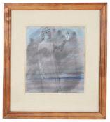 Barnett Freedman (Brit., 1901-58) 'Study of woman waving'