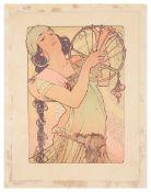 Alphonse Mucha (1860-1939) 'Salome' from L'Estampe moderne, no. 2 1897