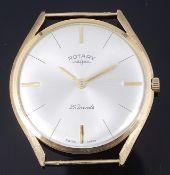 A gentleman's 9K gold Rotary wristwatch
