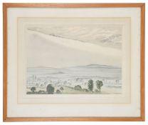 Dame Laura Knight R.A., R.W.S(Brit., 1877-1970) 'Misty landscape'
