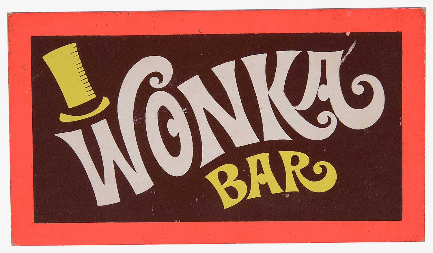 Lot 87 - A Golden Ticket and Wonka Bar from Willy Wonka & the Chocolate Factory