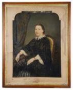 19th century Brit. School 'Portrait of a seated woman'