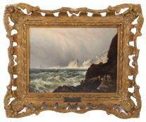 Walter Williams (Brit., 1835-1906) 'Off Westcombe, South Devon'